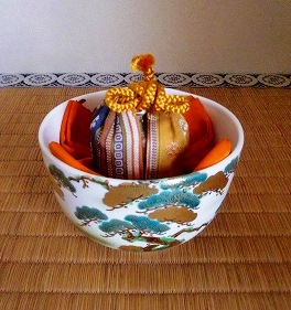 表千家飾物茶碗飾り