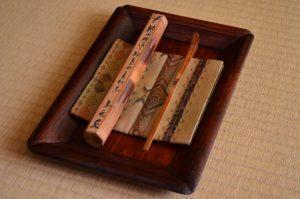 表千家飾物茶杓飾り