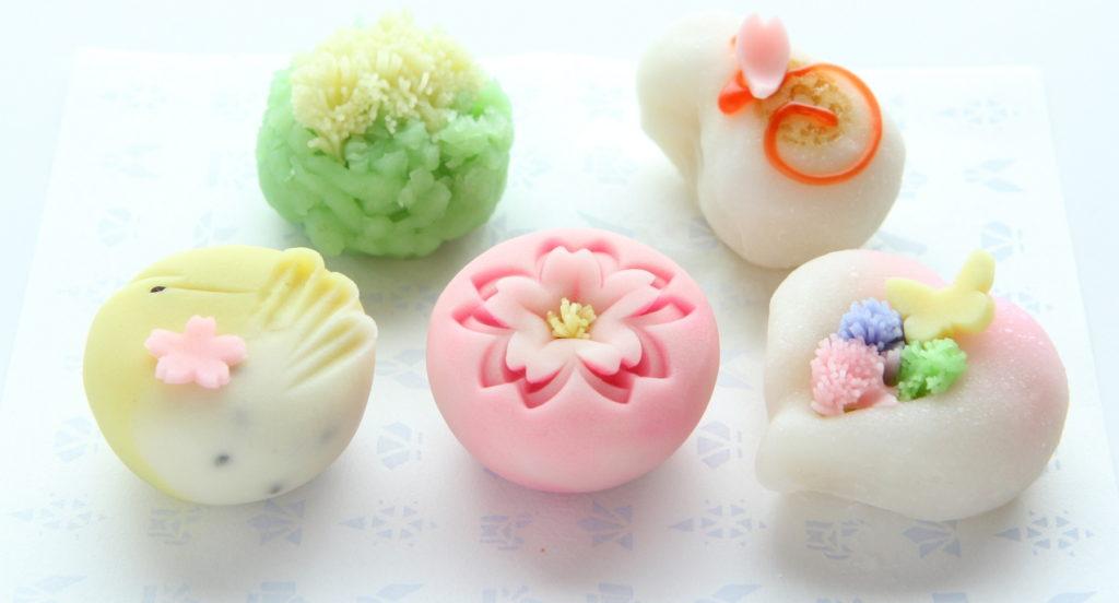 可愛い綺麗な和菓子