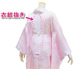 綺麗に衣紋を抜くための着付け小物衣紋抜き