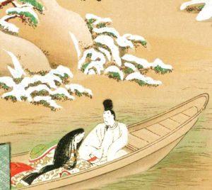 浮舟 6月の茶杓の銘
