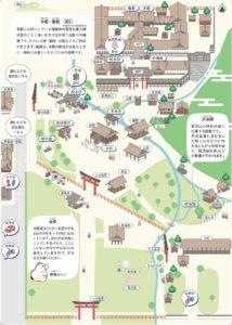上賀茂神社の境内マップ