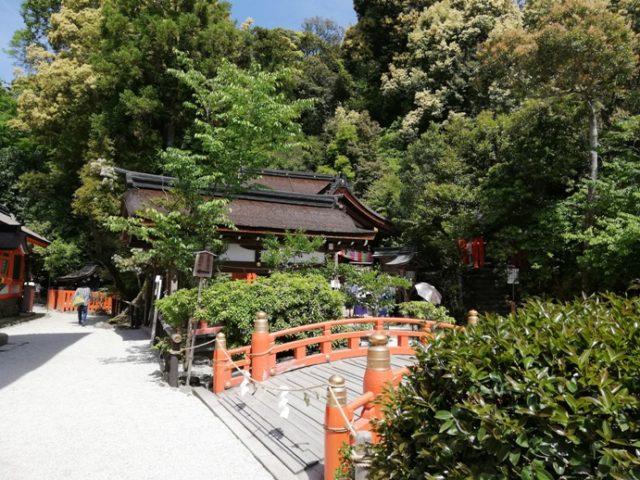 上賀茂神社パワースポット岩上