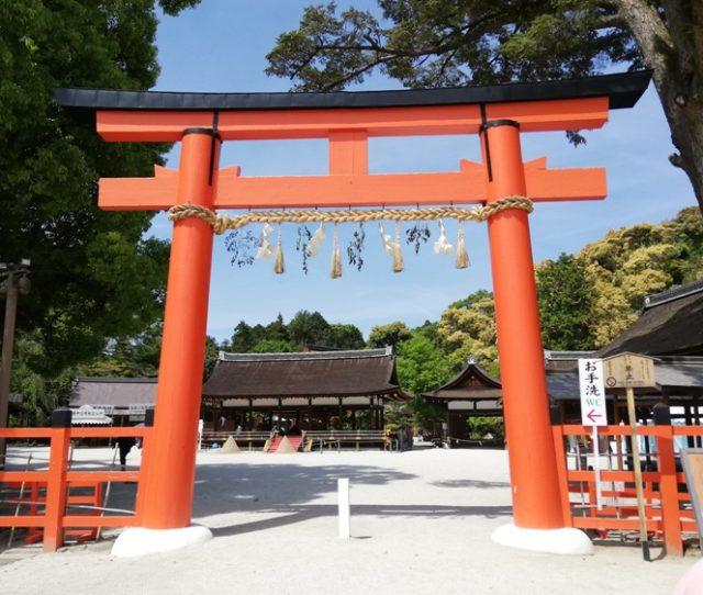上賀茂神社 二の鳥居