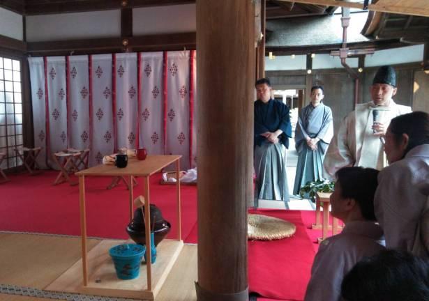 上賀茂神社 献茶祭