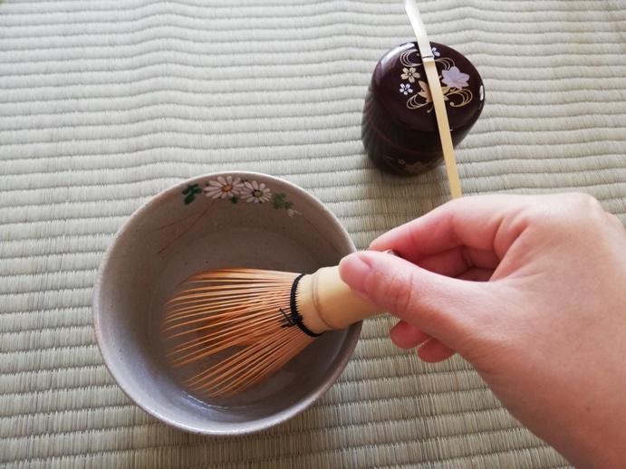 茶筅とうじ 茶筅すすぎの方法